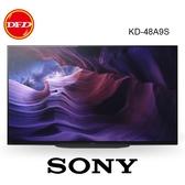 贈全省壁掛施工+壁掛架 SONY 索尼 KD-48A9S 48吋 OLED 4K HDR 智慧電視 公司貨 48A9S