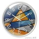 北歐鐘錶掛鐘客廳創意現代時鐘石英鐘錶掛錶臥室靜音個性大號家用 樂活生活館