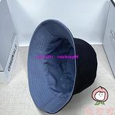 雙面戴漁夫帽夏季韓版百搭時尚遮陽防曬情侶帽子【桃可可服飾】