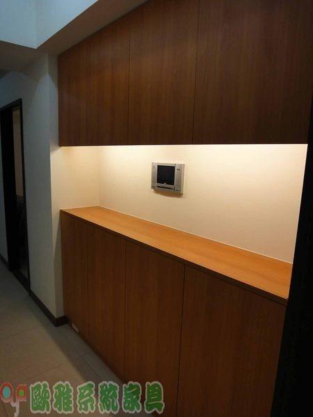 【歐雅 系統家具 】玄關上下層鞋櫃