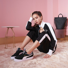 PUMA 休閒鞋 SUEDE MAYU 黑 蔡依林 麂皮 厚底 增高 復古 女 (布魯克林) 38068602