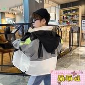 男童春裝新款帥氣外套2021年新款春秋款洋氣兒童夾克上衣沖鋒衣潮【萌萌噠】