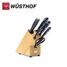 《WUSTHOF》德國三叉牌GOURMET 六件式+刀座組