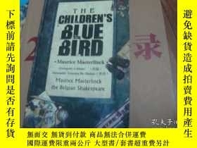 二手書博民逛書店the罕見children s place BIUE BIRD【