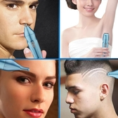 多功能鼻毛修剪器電動男 USB充電式鼻毛修剪刀女用剃毛器鼻孔剃毛 三角衣櫃