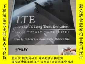 二手書博民逛書店LTE,罕見The UMTS Long Term Evoluti