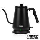 【歐風家電館】PRINCESS 荷蘭公主0.8L 手沖咖啡 細口壺 / 快煮壺 236036 (消光黑)