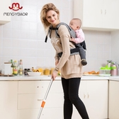 店長推薦 嬰花居多功能嬰兒背帶前后背式兒童寶寶簡易雙肩背袋抱小孩四季