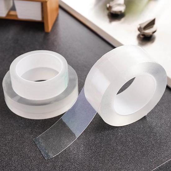 密封貼 密封條 美縫貼 浴室 無痕膠帶 防水 透明膠帶 水槽 防黴膠帶 2mm 壓克力膠帶【Y043】慢思行