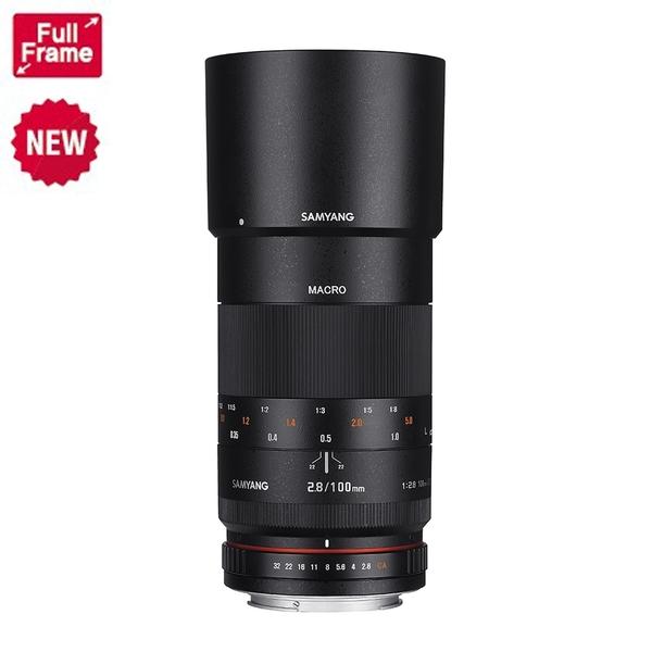 【聖影數位】SAMYANG  For Canon 100mm F2.8 ED UMC MACRO 全幅 手動 微距鏡頭 (EF接環) (公司貨)