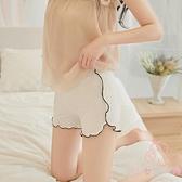 2件套 夏季薄款防走光安全褲女不卷邊內外穿冰絲打底短褲【少女顏究院】