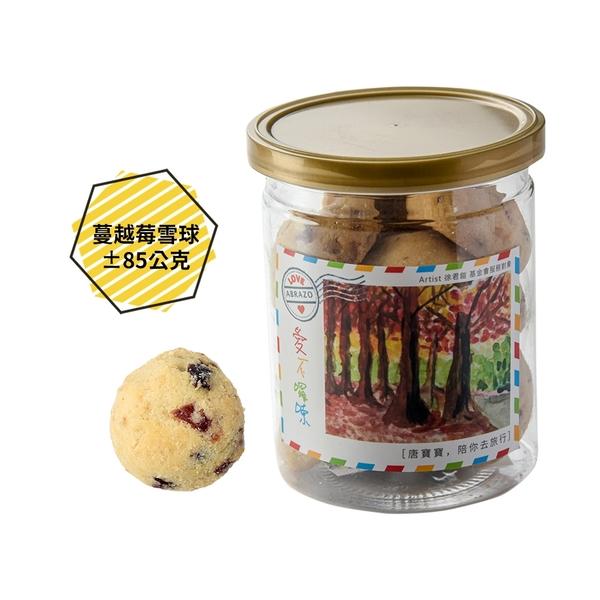 【愛不囉嗦】蔓越莓雪球手工餅乾 - 郵寄下單區 ( 85g/罐 )