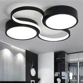 新款led主臥室家用大氣個性小客廳燈簡約風格溫馨浪漫婚房房間燈MKS摩可美家