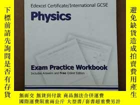 二手書博民逛書店Edexcel罕見International GCSE Physics Exam Practice Workboo