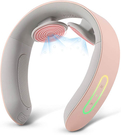 NIPLUX【日本代購】頸部按摩器 頸部放鬆 力量調節USB充電 - 粉色