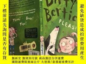 二手書博民逛書店dirty罕見Bertie fleas 骯臟的伯蒂 蚤Y200392