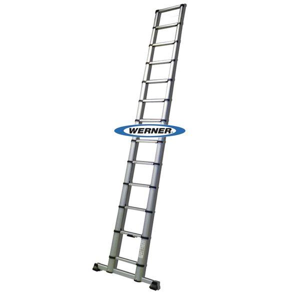 美國Werner穩耐安全鋁梯-BL13-1 鋁合金竹節梯  拉梯 閣樓梯 伸縮直梯 工程梯