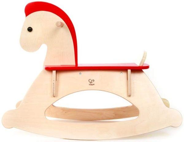 《 德國 Hape 愛傑卡》快樂小木馬 ╭★ JOYBUS玩具百貨