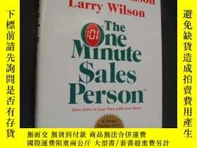 二手書博民逛書店The罕見One Minute Sales Person【一分鐘