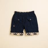【金安德森】KA休閒風搭配格紋反折短褲 (共二色)