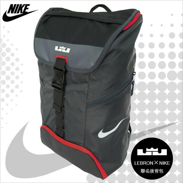 NIKE 後背包 LEBRON AMBASSADOR MAX AIR 紅色 籃球後背包 氣墊雙肩包 BA5111-014  MyBag得意時袋