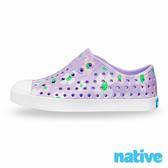 native 小童鞋 JEFFERSON 小奶油頭鞋-小雛菊紫