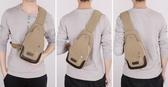 包包2018新款男士胸包帆布包斜挎包男包單肩包韓版小背包休閒腰包