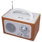 【福利品出清】 DIWANG 復古手提收音機-白色CR-102W (要使用電池)