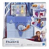 孩之寶 迪士尼動畫電影 冰雪奇緣2 迷你公主城堡場景組 艾莎 安娜 可攜帶式 雙層 TOYeGO 玩具e哥
