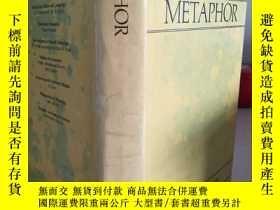 二手書博民逛書店Metaphor罕見《隱喻》 【英文原版,精裝本, 佳】Y116