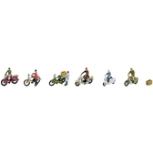 TOMYTEC 腳踏車&機車_TQ25952