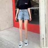 牛仔短褲女2020春季新款高腰顯瘦韓版a字夏季薄款寬鬆潮ins熱褲