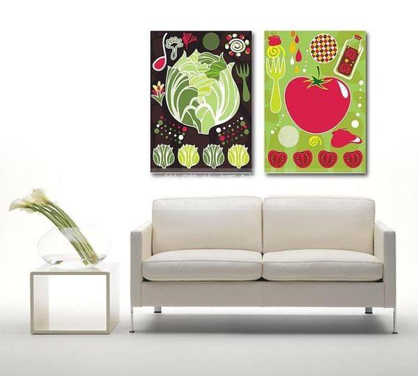 客廳裝飾壁畫/無框畫-抽像類【30*40*0.9兩幅】LG-00381048
