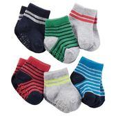 Carter's平行輸入童裝男寶寶 嬰兒襪子 六件式套裝 多色【CA60399】