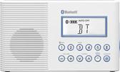 ^聖家^SANGEAN山進二波段調頻 / 調幅 藍芽浴室收音機 H202【全館刷卡分期+免運費】
