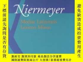 二手書博民逛書店Lexique罕見Latin Medieval - Medieval Latin DictionaryY255
