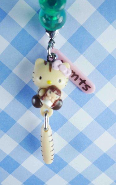 【震撼精品百貨】Hello Kitty 凱蒂貓~KITTY限定版吊飾拉扣-抱娃娃