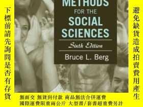 二手書博民逛書店Qualitative罕見Research Methods For The Social Sciences-社會科