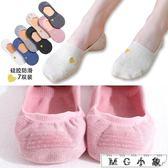 船襪 淺口隱形夏季女韓版可愛硅膠船襪