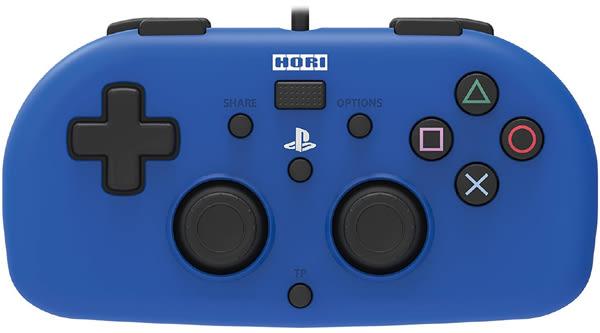 HORI PS4 有線控制器 藍色