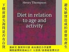 二手書博民逛書店Diet罕見in relation to age and activityY405706 Henry Thom