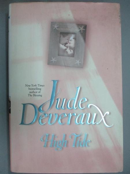 【書寶二手書T7/原文小說_EV3】High Tide_Deveraux, Jude