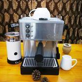 咖啡機GUSTINO意式高壓不銹鋼鍋爐商用家用半自動蒸汽咖啡機可訂做110V MKS摩可美家