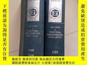 二手書博民逛書店THE罕見ENGINEERING INDEX 1989【兩本合售】Y9526