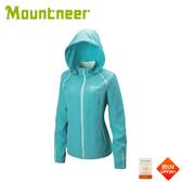 【Mountneer 山林 女 透氣抗UV外套《湖水綠》】31J06/防曬外套/薄外套/春夏外套/夾克