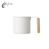 【日本高桑elfin】木把白琺瑯馬克杯-180ml