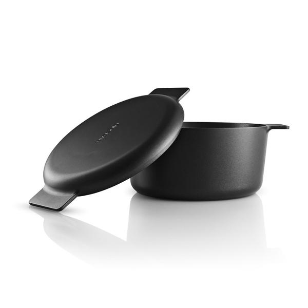 丹麥 Eva Solo Nordic Kitchen Pot 自然歐風系列 黑色 雙耳湯鍋 / 燉鍋(4.5L)