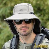 遮陽帽子-防曬抗紫外線UV防潑水遮陽高頂漁夫帽J7551 JUNIPER