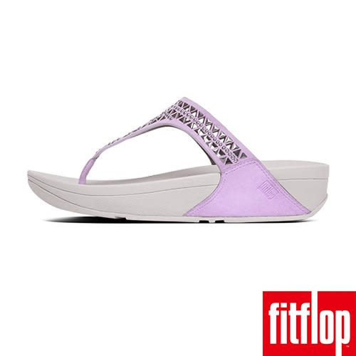 FitFlop TM-CARMEL TM TOE-POST-粉紫色