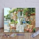 diy數字油畫手工自填充數碼填色手繪油彩裝飾畫【極簡生活】